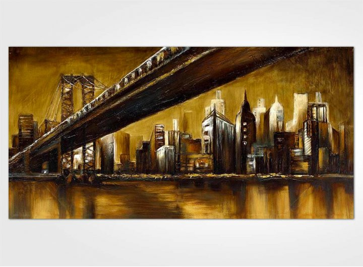 Tableau pont de new york - Tableau de new york ...